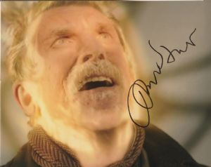 John Hurt - The War  Doctor, 10x 8 picture. This is an original autograph and not a copy. 10322